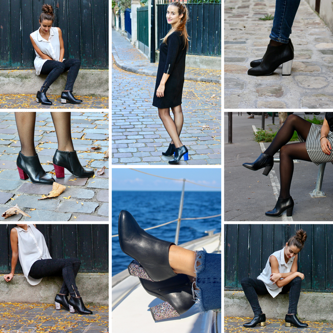 Bottines Brochant - Noir