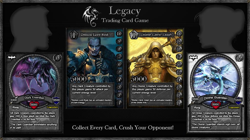 legacy trading card game by legacy game studio kickstarter. Black Bedroom Furniture Sets. Home Design Ideas