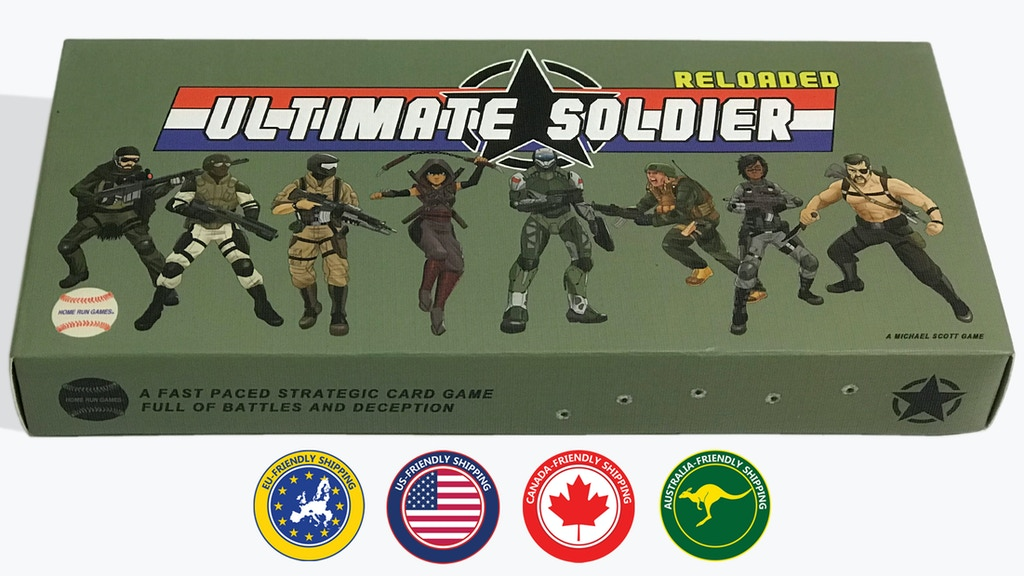 Ultimate Soldier Reloaded project video thumbnail
