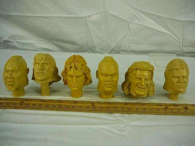 Unproduced Orange Series Heads