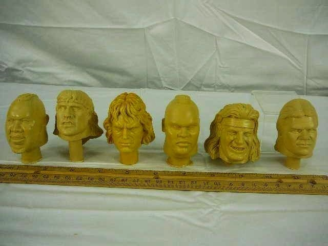 Unproduced Orange Series Heads