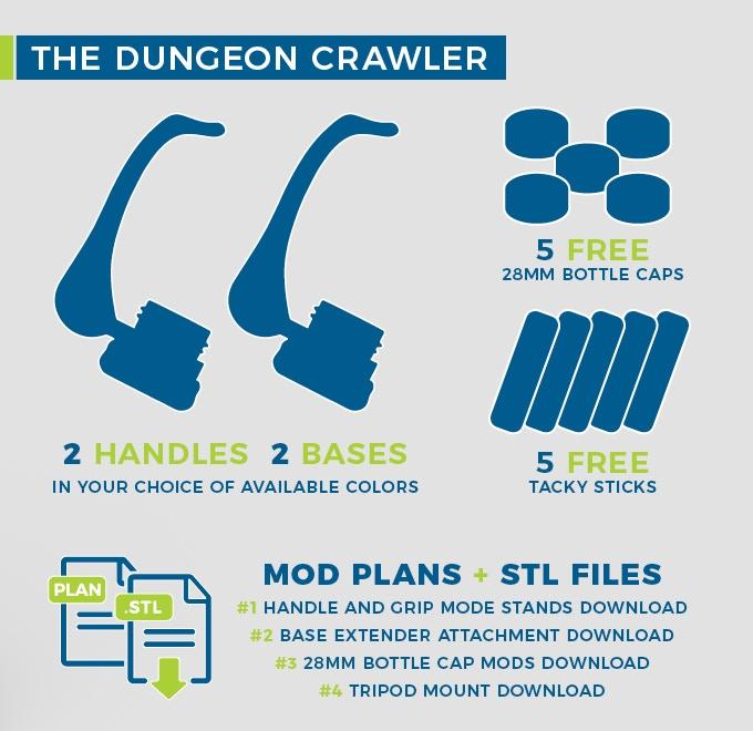 The Dungeon Crawler $40 USD (Early Bird - $36)