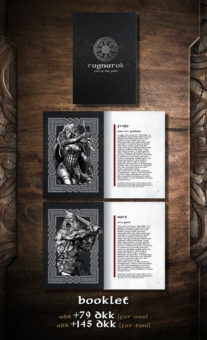 Printed booklet in A6 format (28 pages).