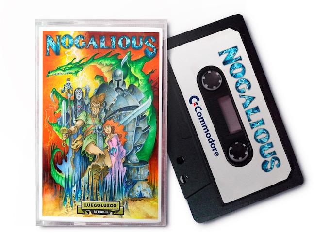 8BIT Cassette (C64, Amstrad, MSX, Spectrum)
