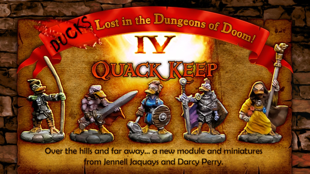 Ducks Lost in the Dungeons of Doom IV: Quack Keep by Darcy