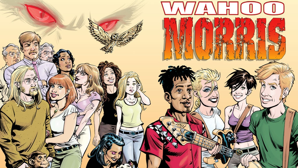Wahoo Morris: A Rock & Roll Urban Fantasy Graphic Novel project video thumbnail