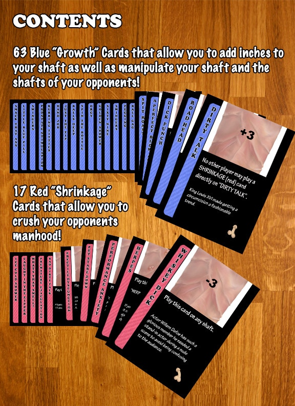 Envy       size matters The NSFW Adult Card Game by