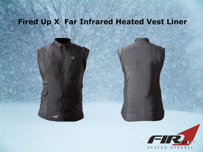 World's Thinnest Heated Liners - Vest, Gloves and Socks by