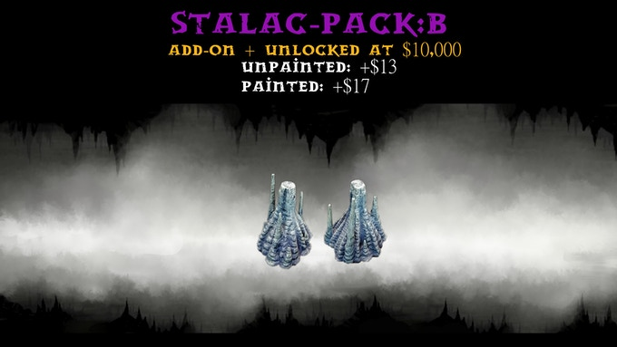 Stalac-Pack:B contains two Size 3 Risers