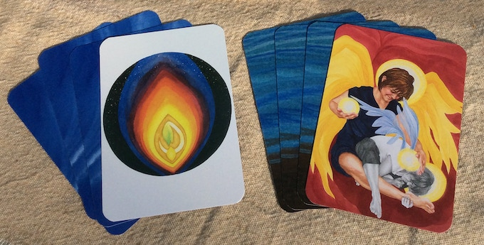 Final art cards will have rounded corners & matching backs