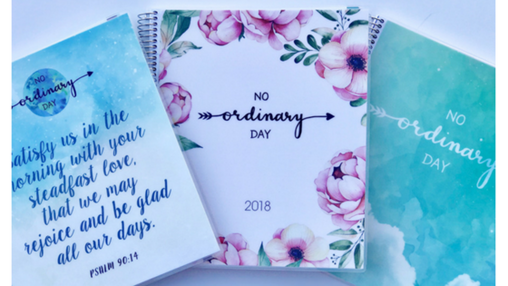 2018 No Ordinary Day Planner project video thumbnail