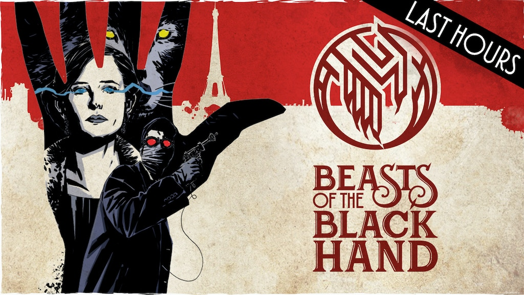 ENDING SOON! Beasts of the Black Hand Graphic Novel project video thumbnail