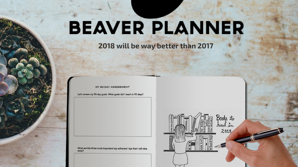 Project image for Beaver Planner - Step into your wilderness and own 2018. (Canceled)