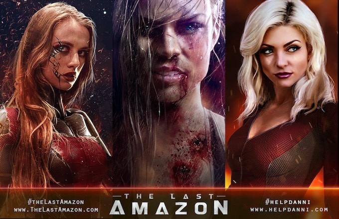 The Last Amazon: Post-Apocalyptic Superhero Graphic Novel by