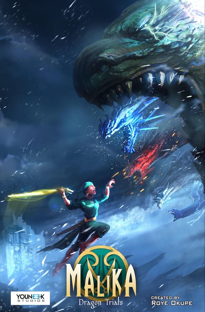 Malika - Dragon Trials
