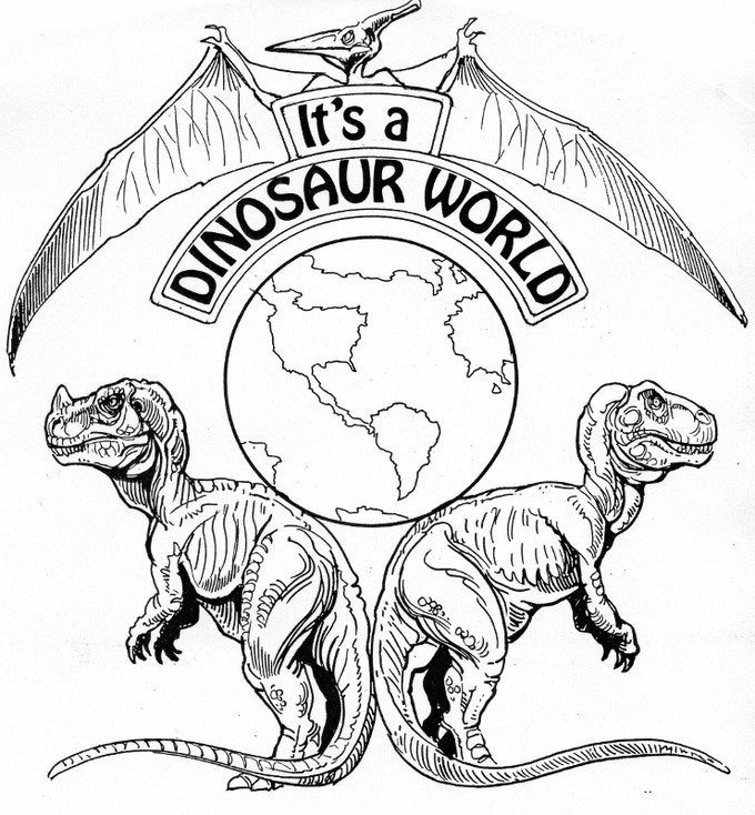 It's A Dinosaur World