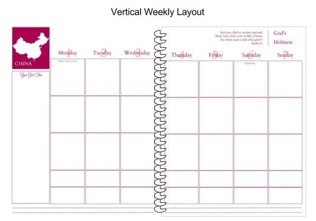 Kickstarter Calendar Planner : No ordinary day planner by mimi brady —kickstarter