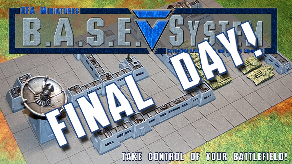 B.A.S.E. System - Take control of your battlefield! project video thumbnail
