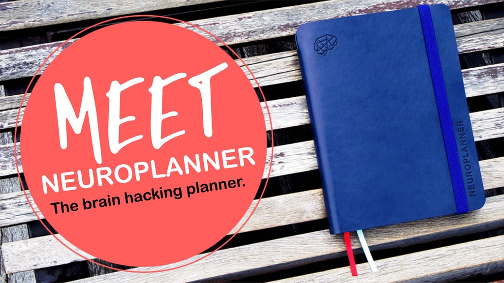 NEUROPLANNER, the brain hacking planner project video thumbnail