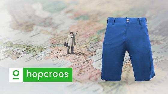 World's Most Versatile Amphibious Travel Shorts - HOPCROOS