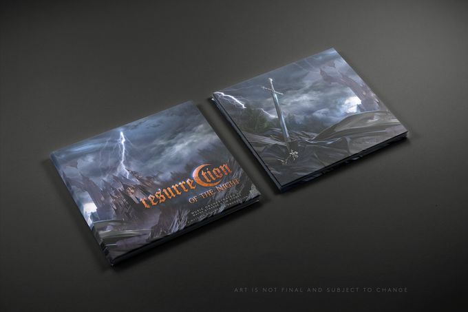 Resurrection of the Night (CD design Mockup)