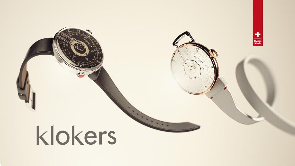 KLOK-08: 60s-inspired unisex customizable watch by klokers