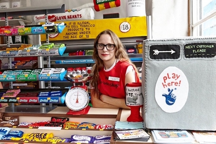 Lucy Sparrow's Cornershop, where everything's made of felt.