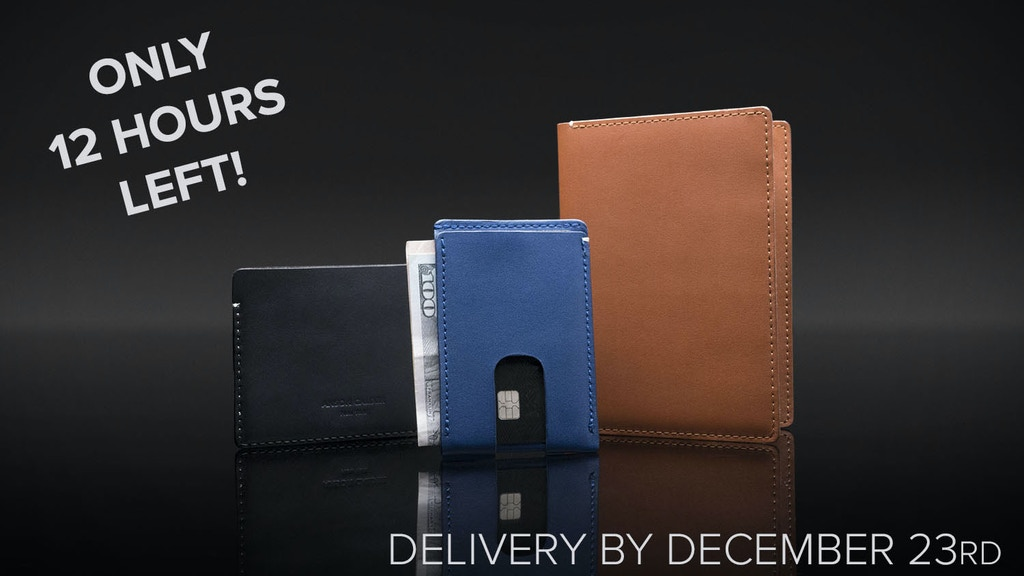 Anson Calder | Wallets for a minimalist lifestyle project video thumbnail
