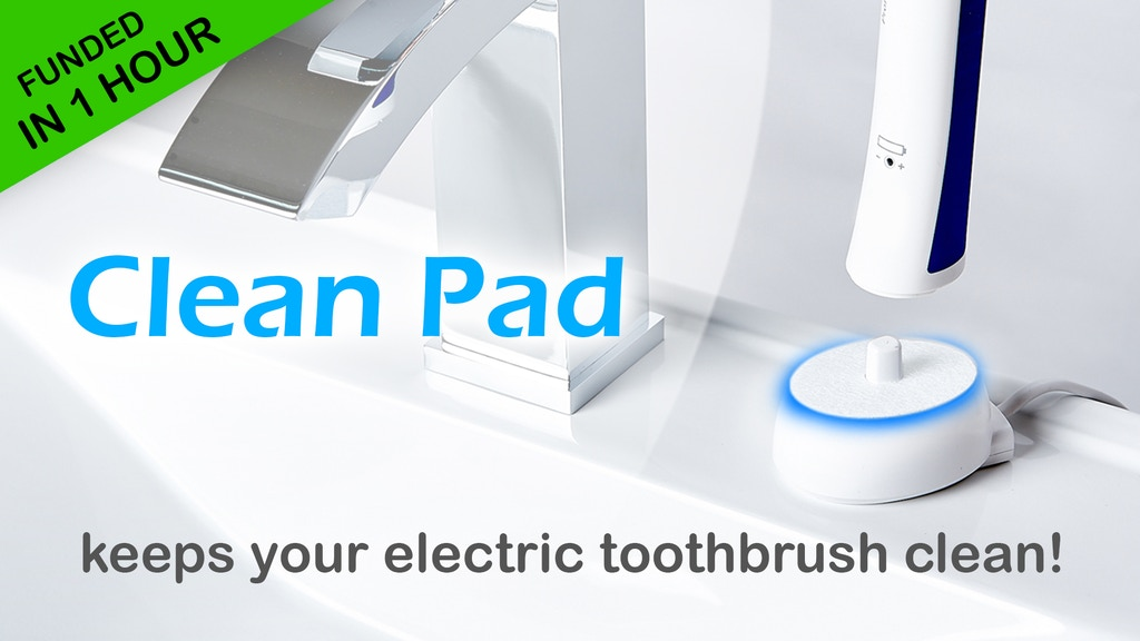 Clean Pads - for a clean toothbrush charging base