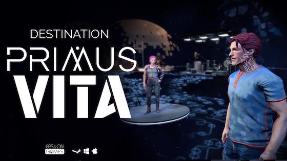 Destination Primus Vita: Volume 1, a narrative puzzle game