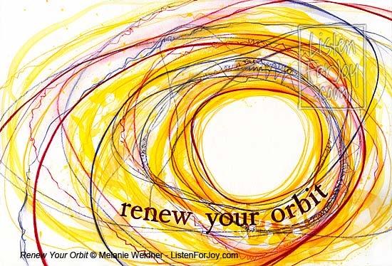 Renew Your Orbit original painting