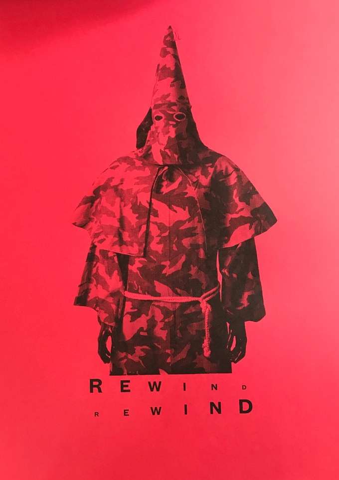 REWIND Limited Edition Screen Print - Large - signed (see and $1000 pledge)