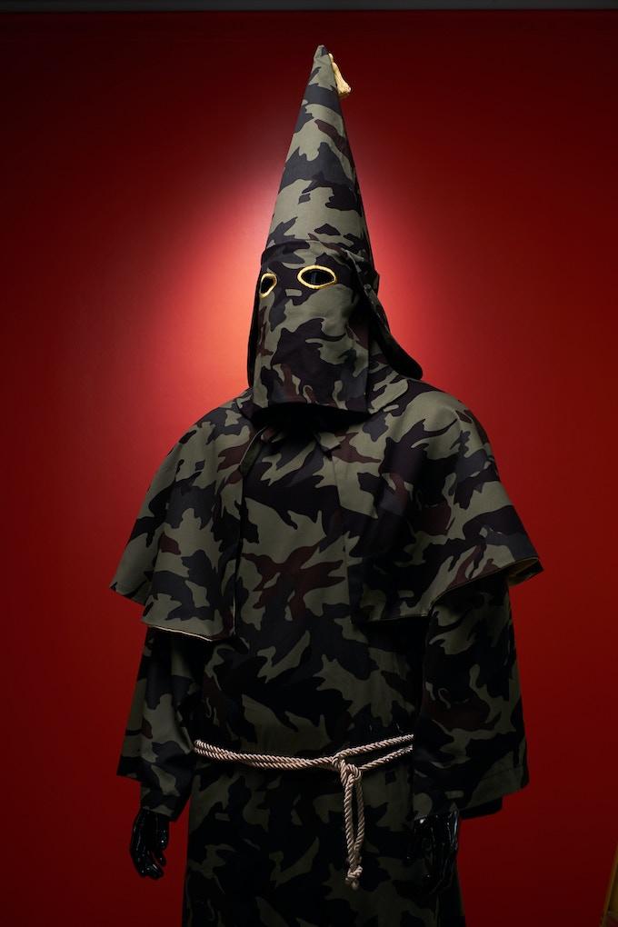 KKK Robe - Green Camouflage