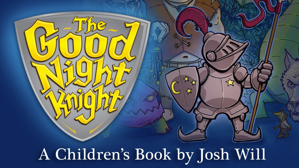 The Good Night Knight children's book project video thumbnail