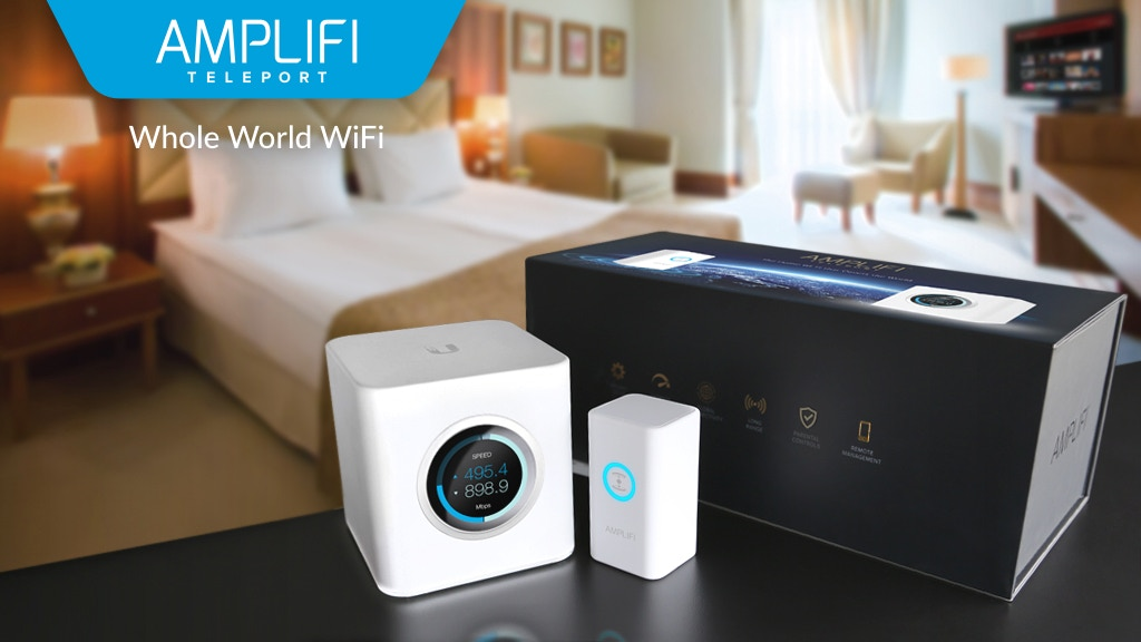 AmpliFi Teleport : The Home Wi-Fi that Covers the World project video thumbnail