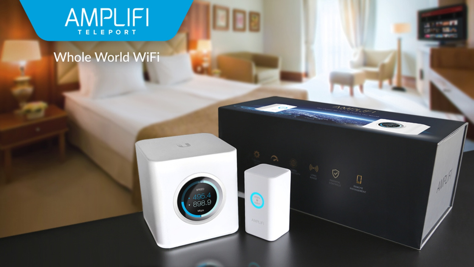 AmpliFi Teleport : The Home Wi-Fi that Covers the World by