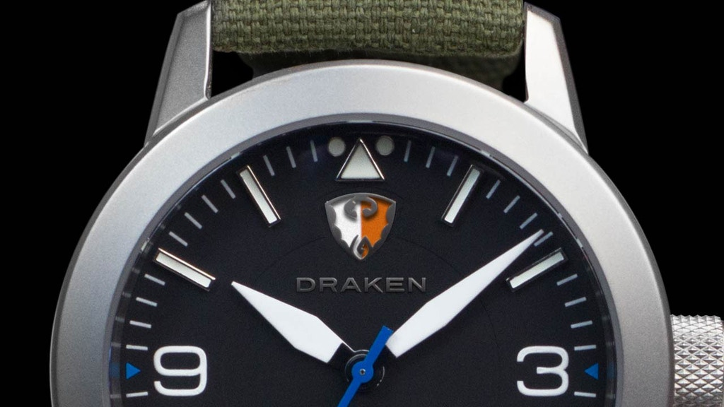 The Draken Peregrine automatic pilot watch project video thumbnail