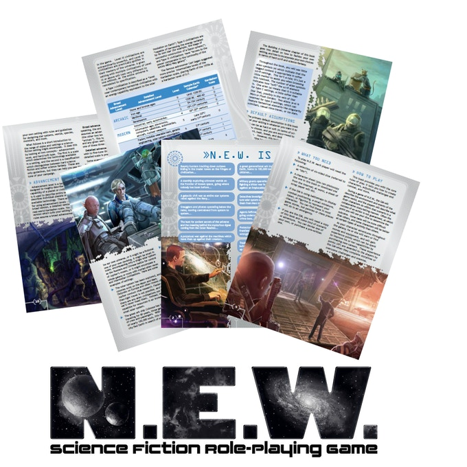 Download this free 23-page preview of N.E.W.