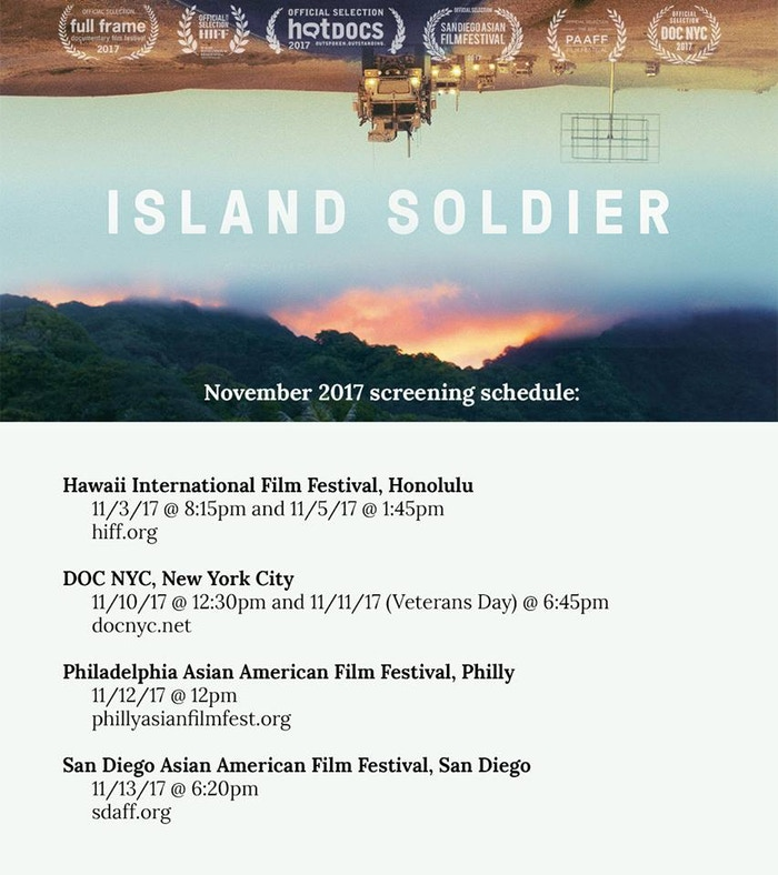 A feature documentary about Micronesian citizens in the U.S. military, and the personal impact of war on members of the Nena family.