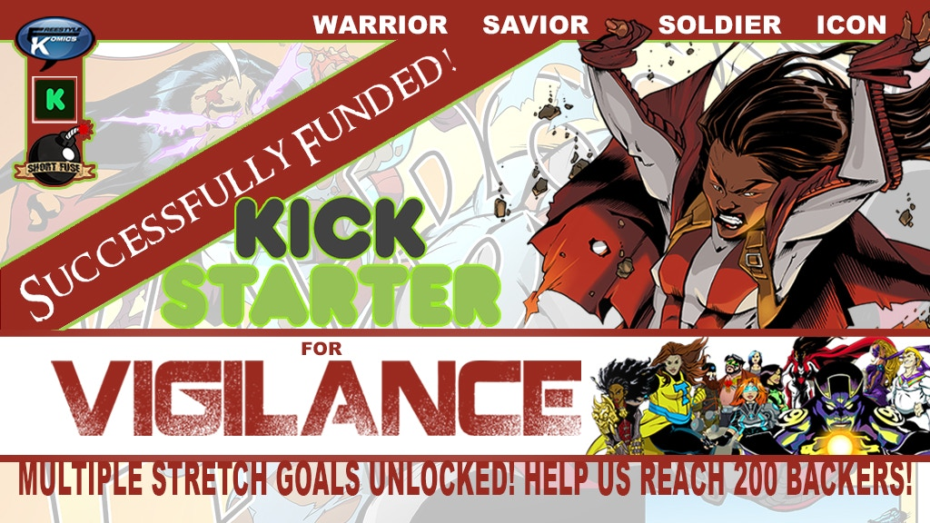 Vigilance Comic Book Series Relaunch project video thumbnail