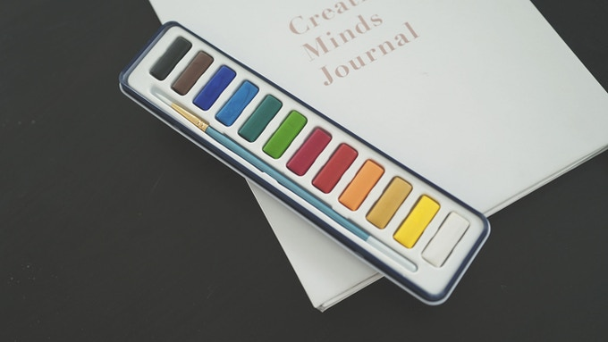 Creative Minds Journal: An Innovative New Way To Journal