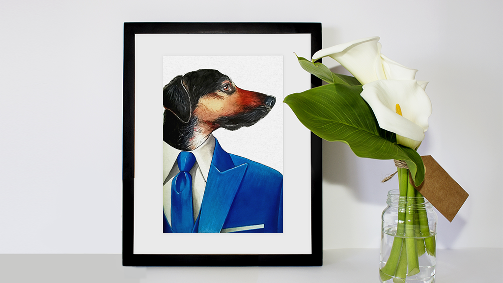 Project image for Your pet in your shoes: a commission project