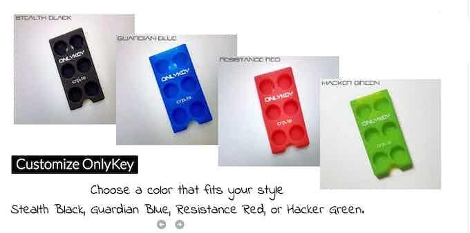 Case Color Choices
