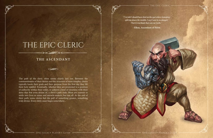 The Ascendant (Epic Cleric)