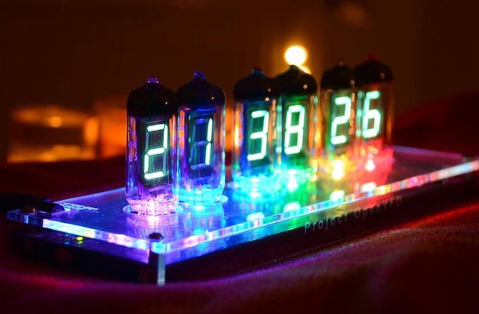 IV-11 VFD Digital Clock based on OpenVFD, 1st generation prototype