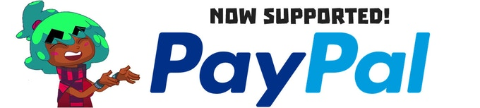 Credit Card not supported? Click the image to pay with PayPal!