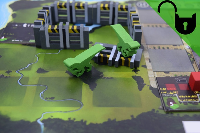 Prototype of the Upgraded Fence Stretch Goal.