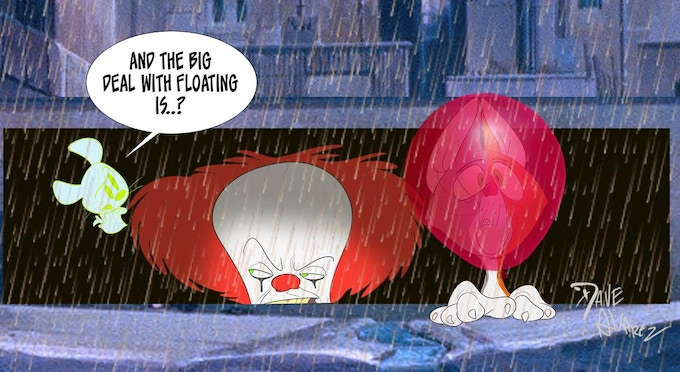 """""""Pennywise"""" by Dave Alvarez"""
