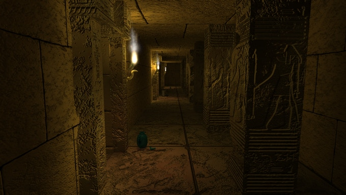 Explore Hidden Corridors deep within the Great Pyramid