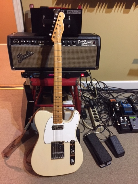 "The Fender Telecaster Kenny used during the recording of ""One More Song."" Only one available at the $1000 level."